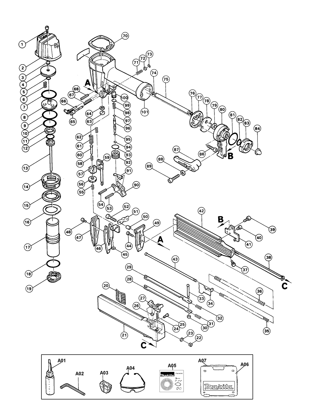 Buy Makita AF502 Type-1 2-Inch Brad (18 Gauge) Replacement