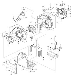 buy makita bbx7600 commercial grade 75 6cc 4 stroke gas powered 195 ac blower motor wiring makita blower wiring diagram [ 1000 x 1076 Pixel ]