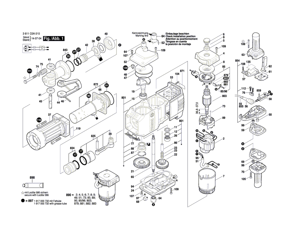 Buy Bosch BH2770VCD-(3611C0A011) Brute™ Turbo Breaker