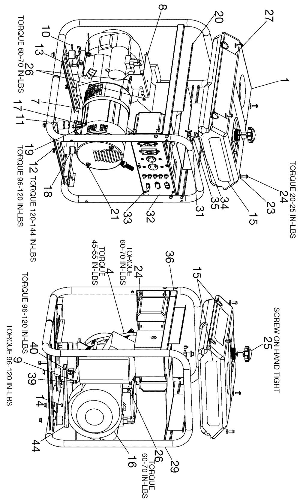 Generac 5500 Watt Generator Wiring Diagram