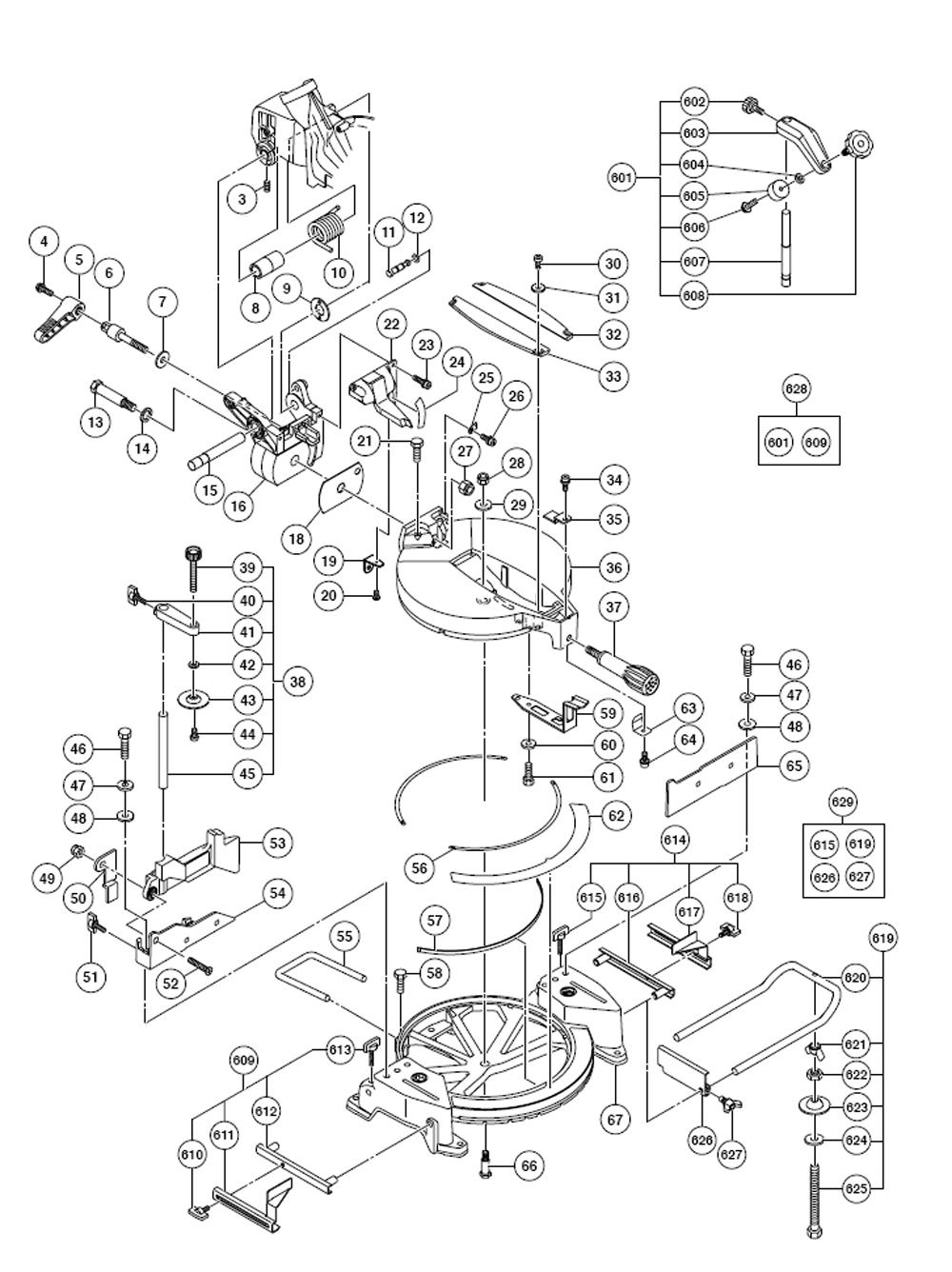 Buy Hitachi C10FCE2 10 Inch Compound Miter Replacement