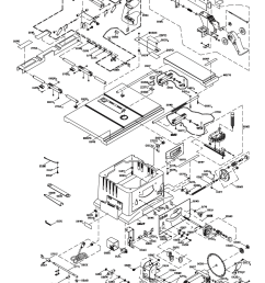 hitachi c10fr parts schematic [ 822 x 1111 Pixel ]