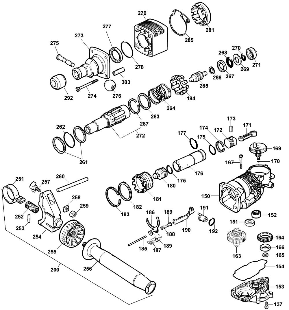 Buy DeWalt D25551K Type-2 1-9/16 Inch Spline Replacement