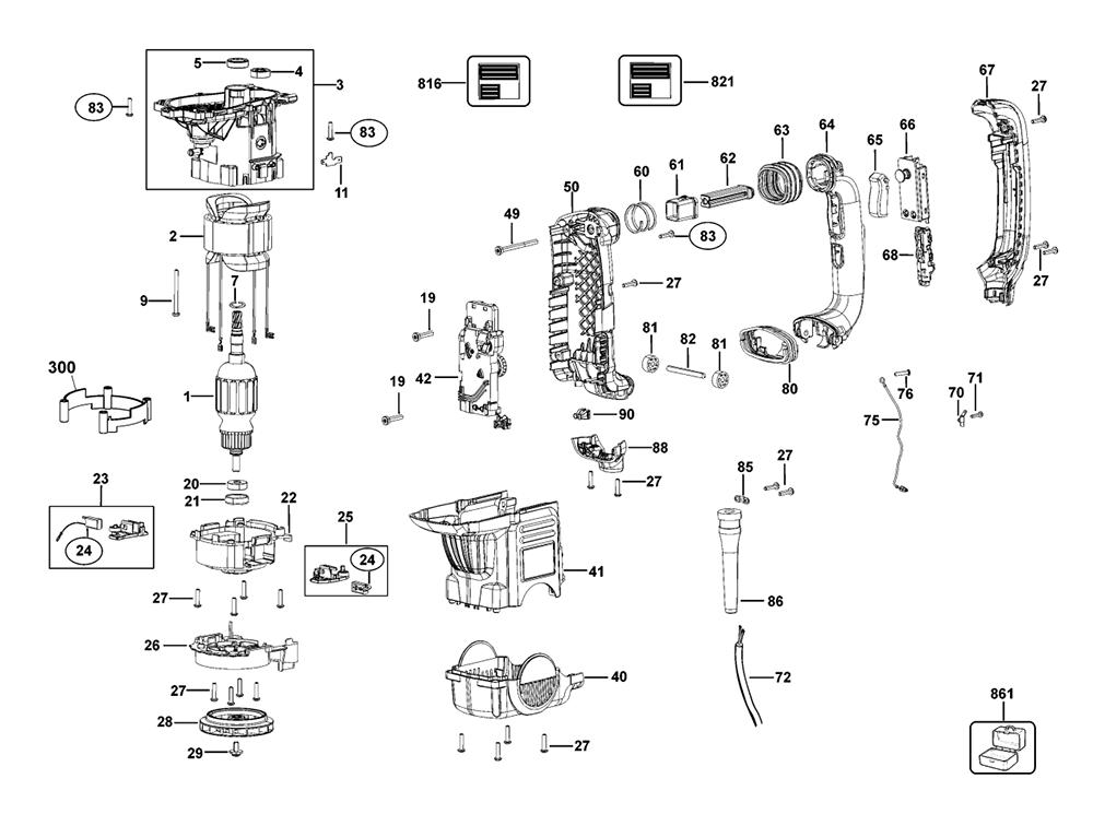 Buy Dewalt D25652K Type-3 Spline Combination Replacement
