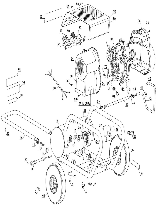 Dewalt Air Compressor Wiring Diagram : 36 Wiring Diagram