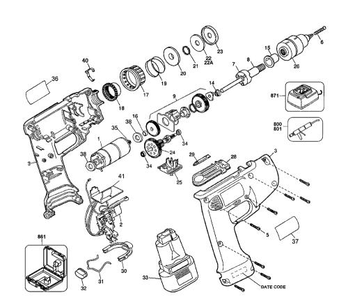 small resolution of buy dewalt d945k 04 type 1 replacement tool parts dewalt d945k 04dewalt d945k 04 type 1