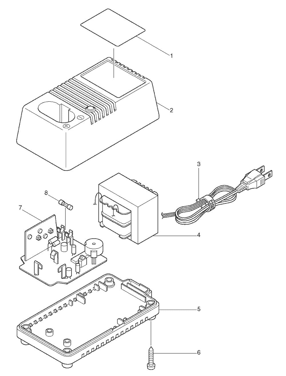 medium resolution of makita dc1201 parts schematic