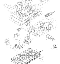 makita dc18rd type 2 parts schematic [ 1000 x 1285 Pixel ]