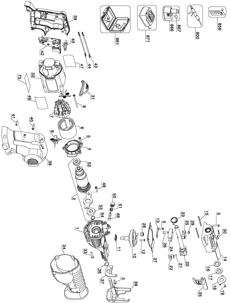 Wiring Diagram Dewalt Saw Dewalt Gearbox