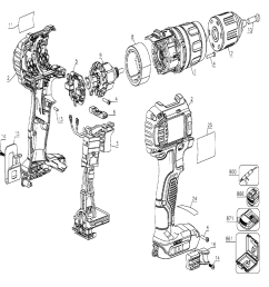 dewalt drill diagram wiring diagram dewalt drill diagram buy dewalt dcd780b type 1 20v max lithium [ 1000 x 979 Pixel ]