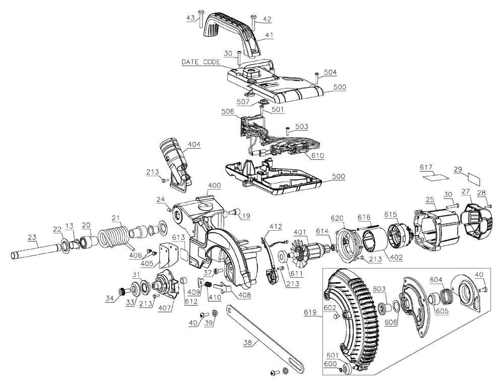 Buy Dewalt DCS361M1 Type-1 20V Max Cordless Miter Saw
