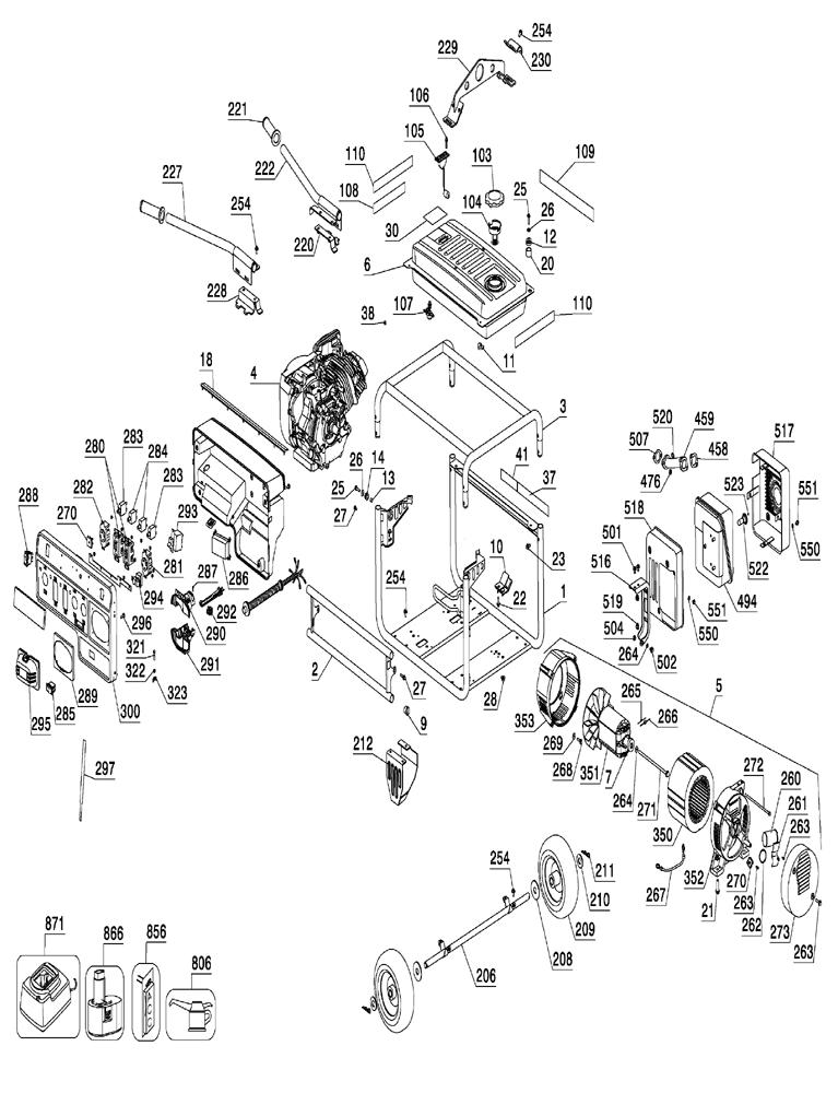 Generator Dewalt 7200 Starter Wiring Diagram