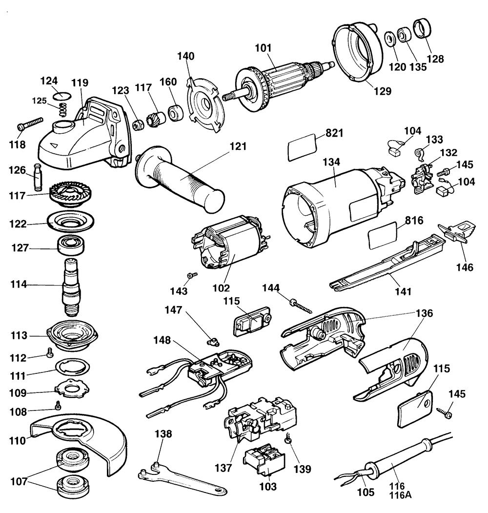 Dewalt Circular Saw Spare Parts