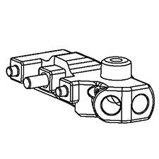 DeWalt Parts N275350 BLOCK ASSY. For DeWalt oscillating