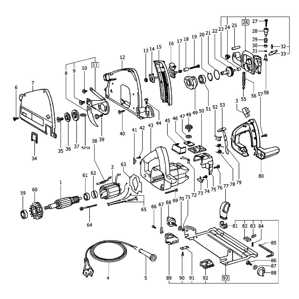 Buy Festool 488369 ATF 55 E 120V Replacement Tool Parts