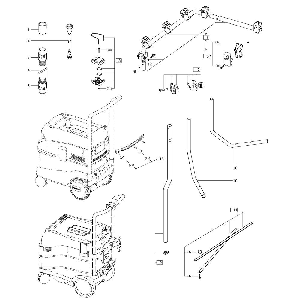 Buy Festool 492762 CT boom arm Replacement Tool Parts