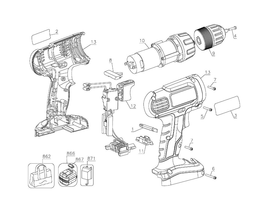 Buy Black and Decker GC1800VA Type-2 Replacement Tool