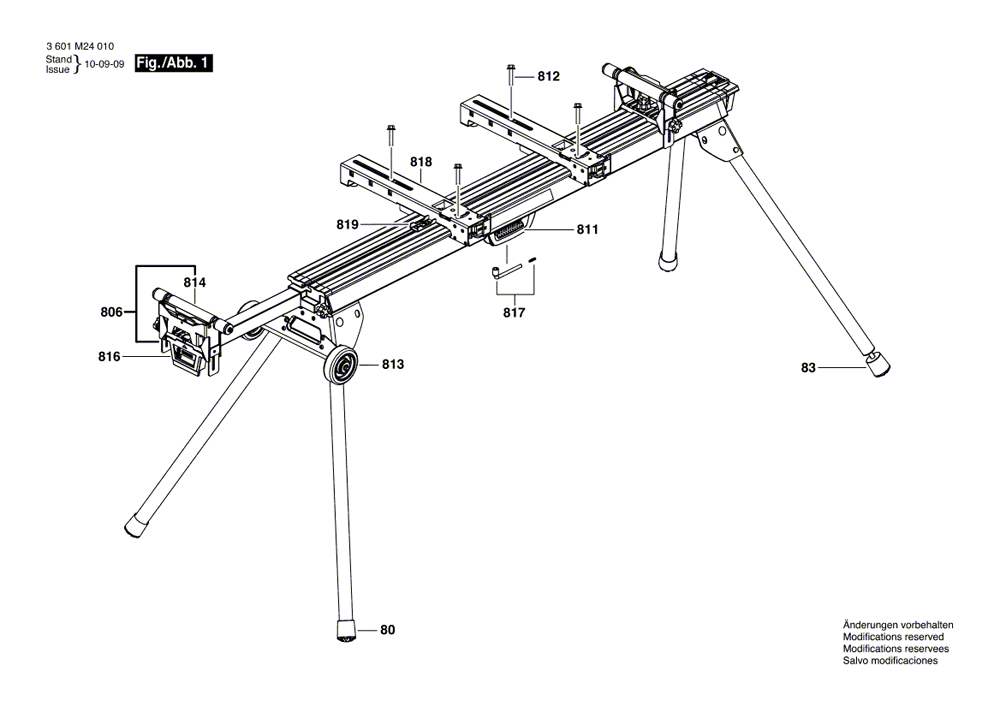 Buy Bosch GTA3800 Folding Leg Miter Stand Replacement Tool