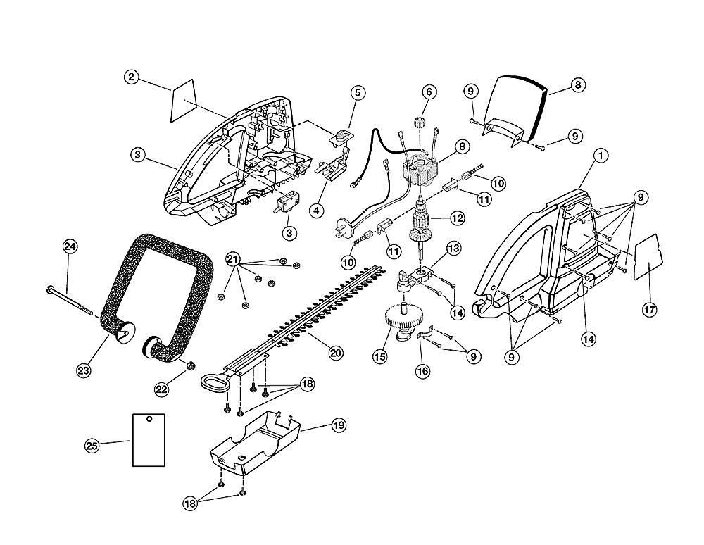 Buy Ryobi HT920DR (80001-9815) Replacement Tool Parts