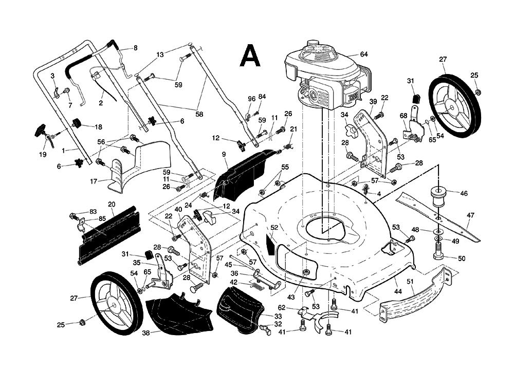 Buy Husqvarna HU700F-(96145000902) Replacement Tool Parts