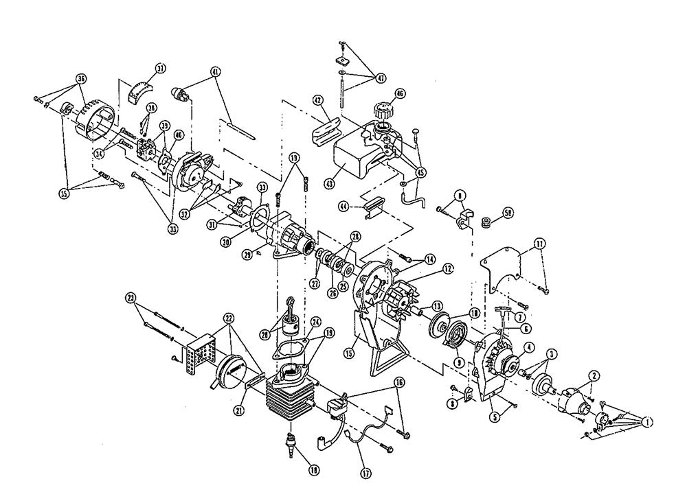 Buy Ryobi IDC 400-1 (909012027) Replacement Tool Parts