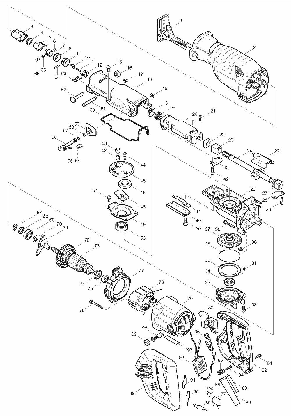 Makita Jr3000v Wiring Diagram Auto Electrical Related With