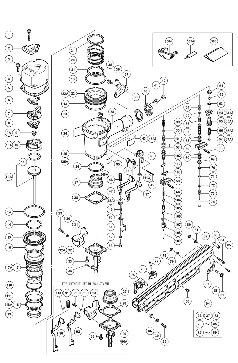 Buy Hitachi NR83A2(Y) 3-1/4
