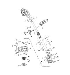 ryobi p2200 parts schematic [ 1000 x 1127 Pixel ]