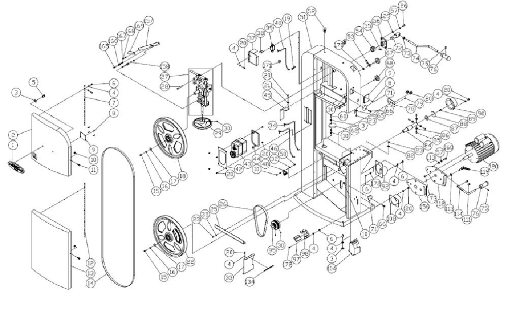 Buy Powermatic PM1800B-(1791800B) 18- Inch Band Saw