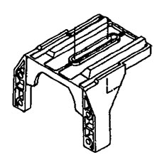 Porter Cable Parts N030483 BRACKET For Porter Cable jointer
