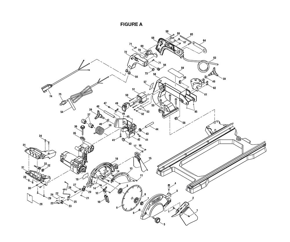 Ridgid Table Saw R4510 Wiring Diagram