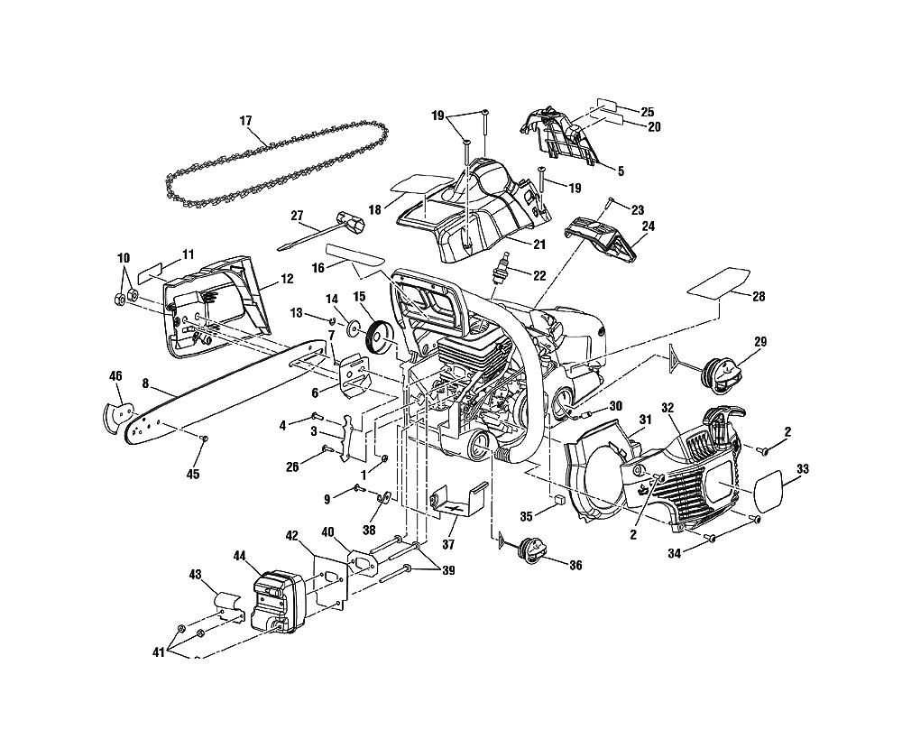 Ryobi Spare Parts Diagrams