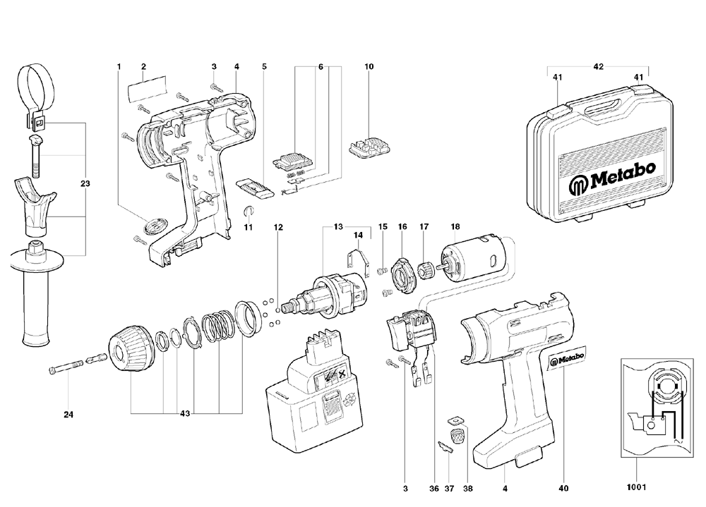 Buy Metabo SBEAT214!2RL-(602314420) Replacement Tool Parts