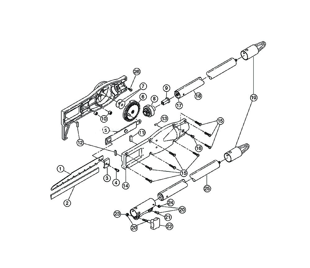Buy Ryobi TP720R (41AJTPA054) Replacement Tool Parts