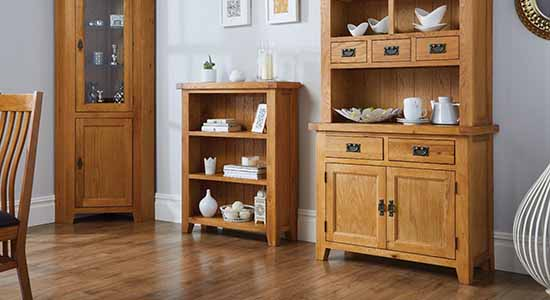 oak furniture free delivery