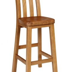 Kitchen Stool Island Outlet Billy Oak Bar Free Delivery Top Furniture