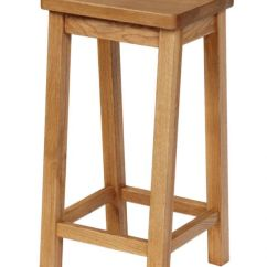 Wooden Kitchen Stools Unfinished Chairs Solid Oak Stool Refectory Free Delivery Top Furniture Next Previous