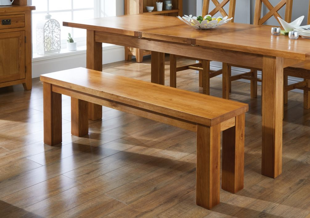 kitchen benches macy's towels large solid oak dining bench top furniture previous