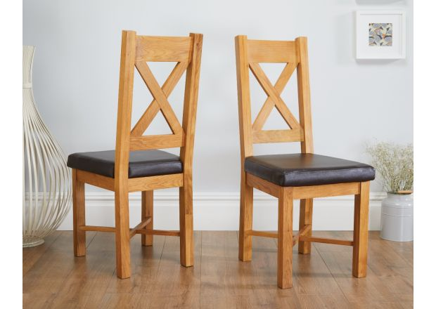 oak kitchen chairs aid refridgerator top furniture grasmere dining chair with brown leather seat