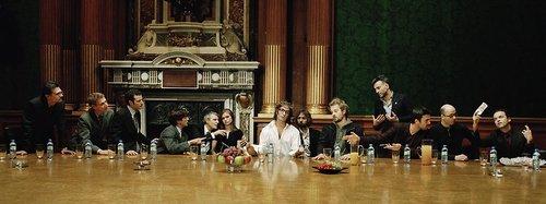 Zombie Last Supper Jesus