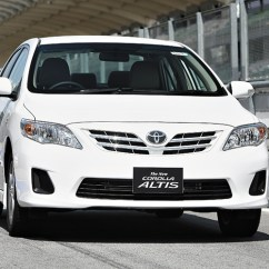 All New Corolla Altis Toyota Yaris Trd Sportivo Mt Saloon Receives A Mid Life Injection To Keep It Front