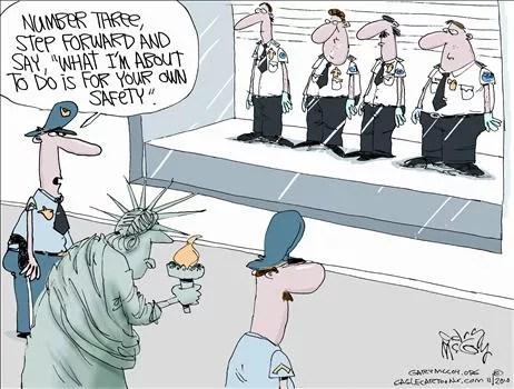 Political Cartoon by Gary McCoy