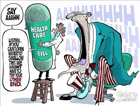 Political Cartoon by Brian Farrington