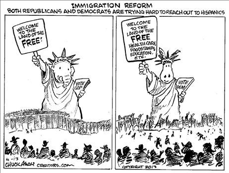 Chuck Asay Political Cartoons