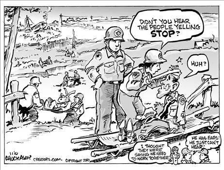 Political Cartoon by Chuck Asay
