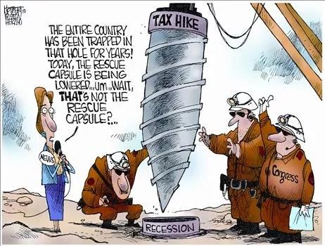Political Cartoon by Jerry Holbert
