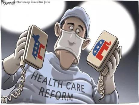Political Cartoon by  Bennett