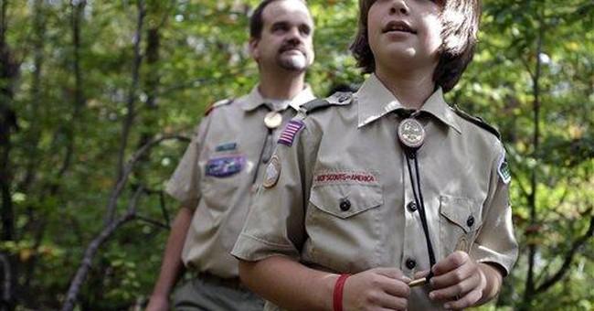 Trump Eagle Scout Certificate