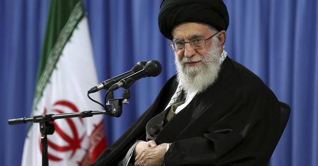 Ayatollah Ali Khamenei, Iran's Supreme Leader, {image source:  townhall.com}