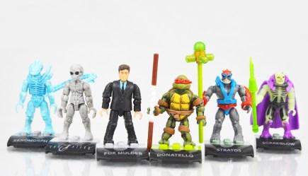 Mega Construx MCX Heroes Mini-Figure Series 5 Figure Line-Up